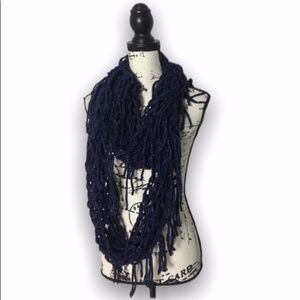Steve Madden loose knit infinity scarf